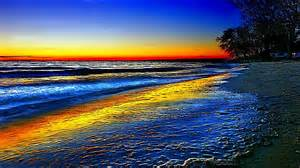 colorful beaches colorful sunsets wallpaper free colorful