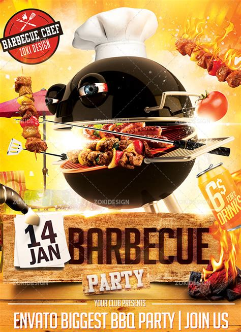 20 Bbq Flyer Templates Free Word Pdf Psd Eps Bbq Flyer Template Free