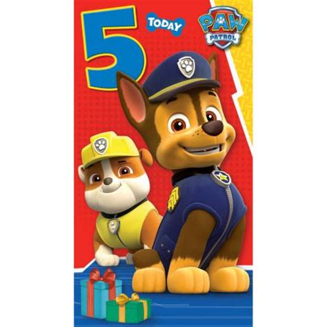Free Paw Patrol Happy Birthday Card