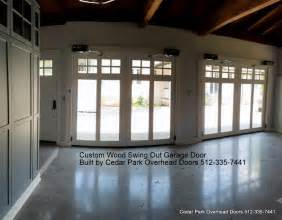 doors cedar park tx custom swing out garage doors cedar park overhead doors
