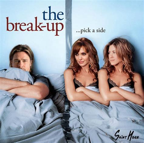 Anniston Thinks Brangelina Are Totally A Joke by Brad And Split The Funniest Aniston