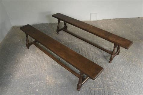 hallway benches for sale pair of 19th century english oak joint hallway benches for sale at 1stdibs