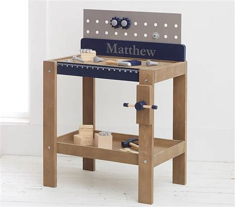 pottery barn tool bench personalized woodwork bench pottery barn kids