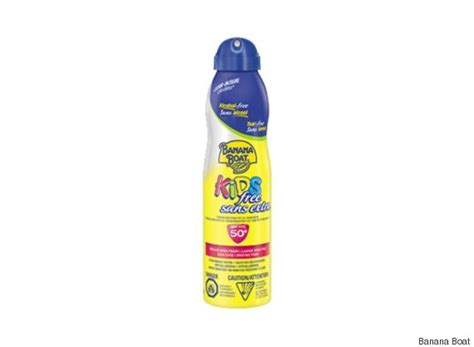 banana boat sunscreen canada banana boat sunscreen burned babies health canada