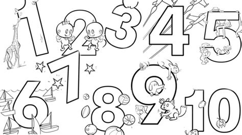 coloring pages for numbers 1 10 coloring pages numbers 1 10 coloring pages