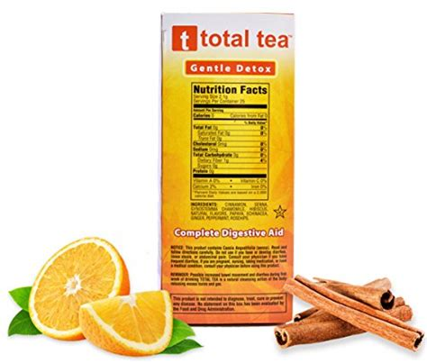 Total Tea Gentle Detox Tea 25 Sealed Teabags by Total Tea Gentle Detox Tea 25 Sealed Teabags Helps