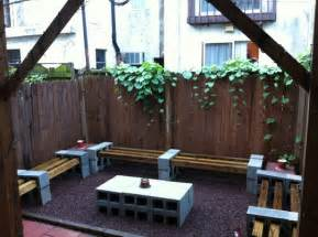 cinder block furniture backyard budget backyard 10 ways to use cheap concrete cinder
