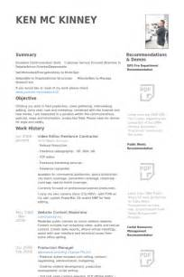 Resume Sample Video Editor by Video Editor Resume Samples Visualcv Resume Samples Database