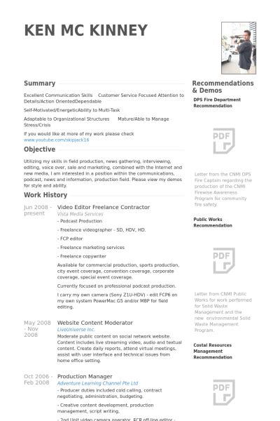 video editor resume template nrega thesis java developer