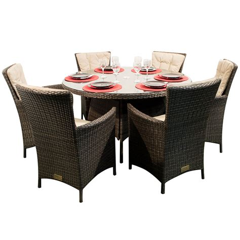 round dining table with armchairs kensington club 6 dining armchairs with a 135cm round