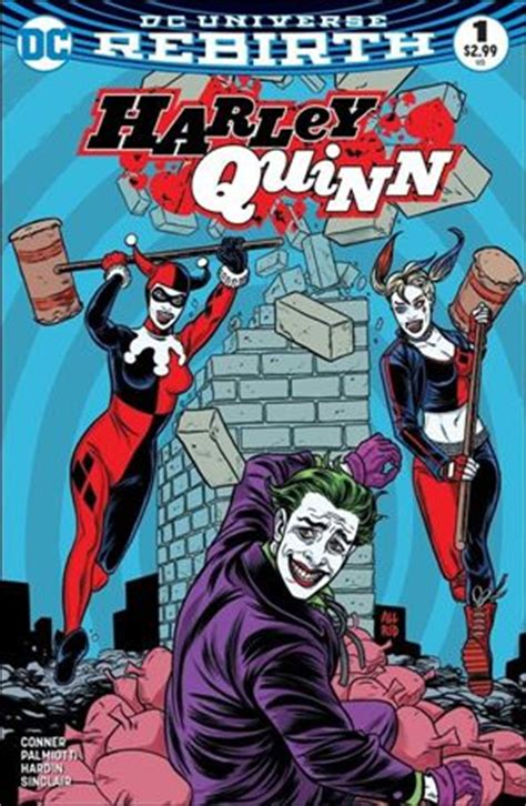 harley quinns cover gallery harley quinn 1 sx oct 2016 comic book by dc