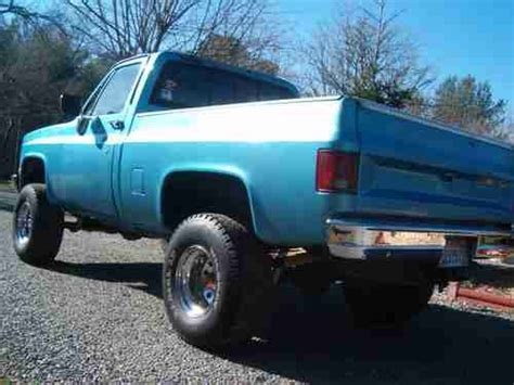 rust free pickup beds sell used 1986 chevy short bed 4x4 rust free ca truck in