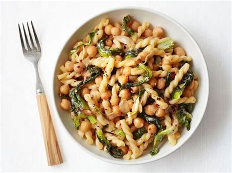 protein in chickpeas pasta with escarole and chickpeas recipe chickpea