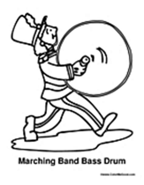 Marching Band Stick Coloring Page Coloring Pages Marching Band Coloring Pages