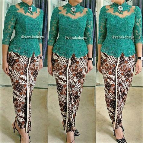 Gamis Bergo Dual Lace Cf13915 fitting kebaya partydress batik lace lacelovers verakebaya kebaya