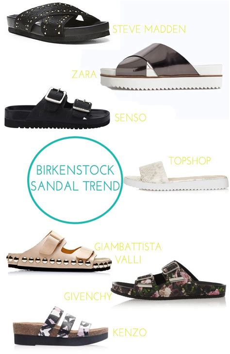 birkenstock sandals trend birkenstock sandal trend diamonds and spikes