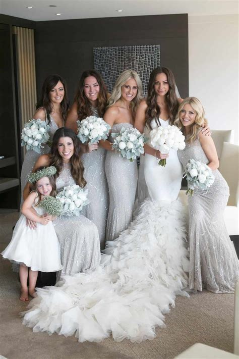 silver bridesmaid dresses 15 best outfits   Page 11 of 12
