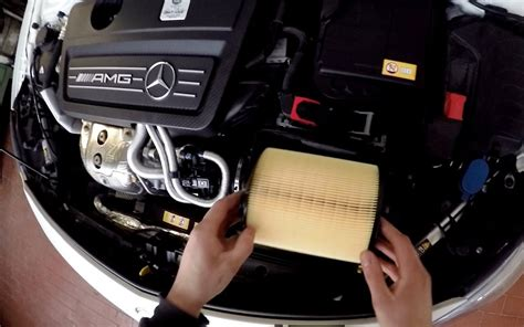 change w a 45 amg changing the air filter