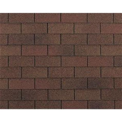 owens corning supreme ar autumn brown 3 tab shingles 33