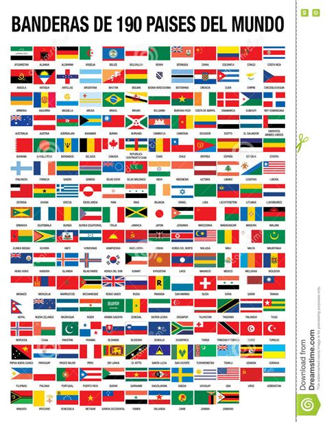 flags of the world eps free download flags of the world 190 countries stock vector