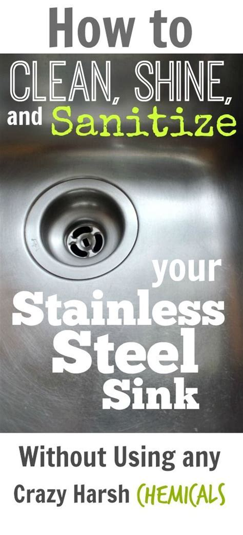 Quick Cleaning Hacks for Your Home   Stainless steel sinks