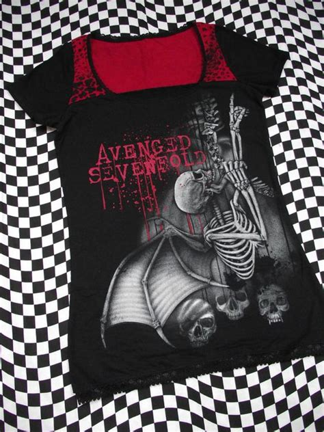 A7x Avenged T Shirt avenged sevenfold t shirt the o jays what is and band