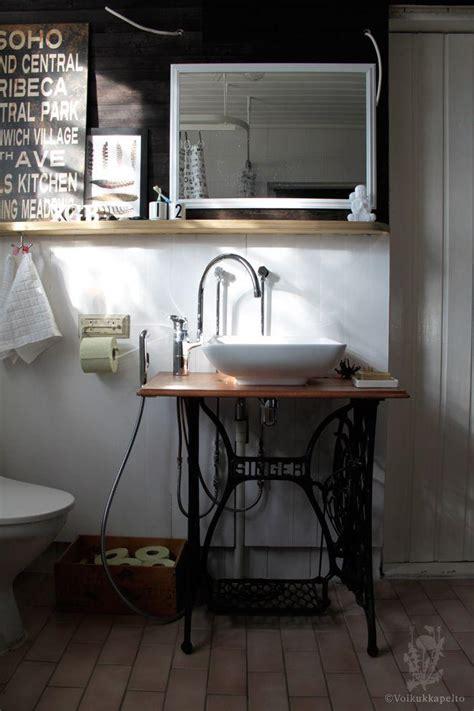 reutilizar mesas de maquinas de coser antiguas paperblog