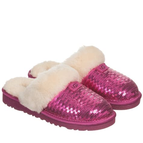 pink house shoes sparkly pink ugg slippers