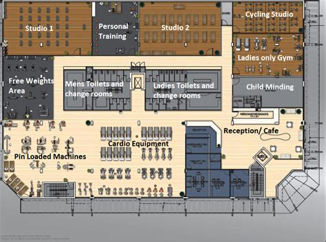 fitness center floor plan design work out gym floor plan google search hospitality