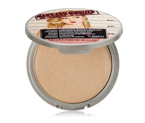 The Balm Single Blush Blush On Highlighter lou manizer lou manizer betty lou manizer highlighter pressed powder balm cosmetics