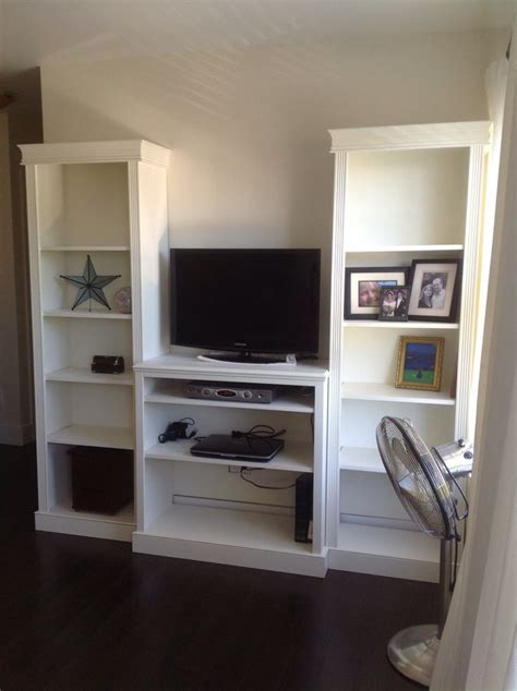 Diy Tv Stand For Bedroom Diy Bookshelves And Tv Stand For Bedroom Projects