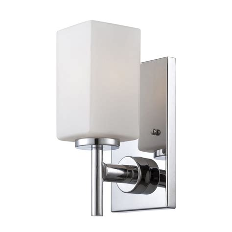 Designer Wall Sconces Shop Designer S Dakota 4 5 In W 1 Light Chrome