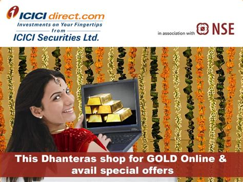 Stores Offering Gift Card Deals - this dhanteras shop for gold online using icici bank cards and avail special offers