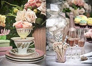 bridal shower tea celebrations at home