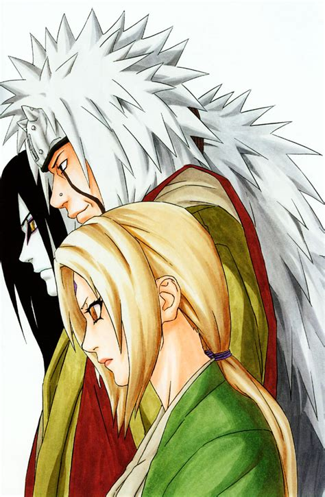 Kaos 3 Legend Sanin Orochimaru Jiraiya Tsunade legendary three images the sannin hd wallpaper and background photos 19943443