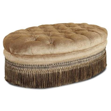 round tufted ottoman with fringe 69 best images about upscale upholsteries new limited