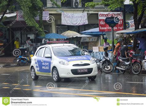 Police Car Editorial Stock Image - Image: 60442529