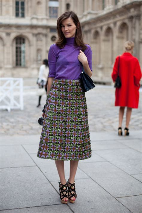 Images Of Street Style In Paris In Spring For Women Over 50 | paris street style spring 2013 paris fashion week street