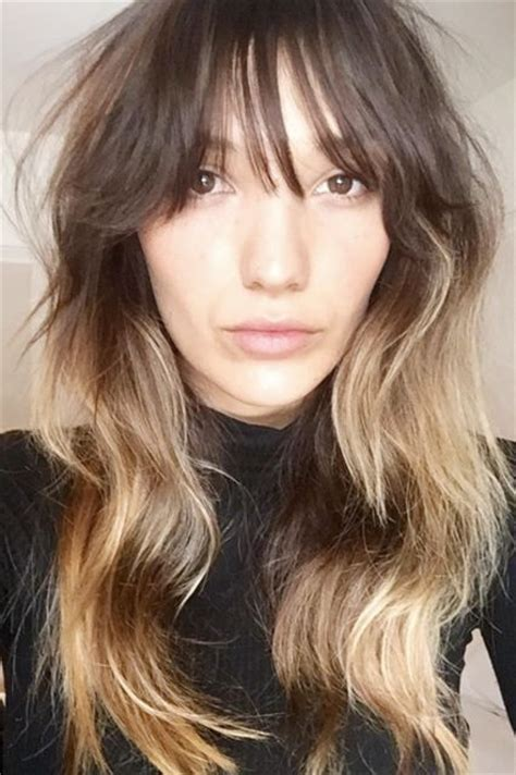 haircuts with textured bangs 1000 ideas about wispy bangs on pinterest bangs