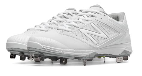 new balance low cut 4040v1 metal cleat in white for lyst