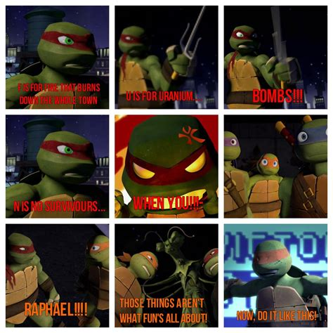 Tmnt Memes - i love these quot fun quot memes my heros in a half shell