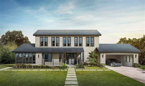 tesla s new solar roof is actually cheaper than a normal