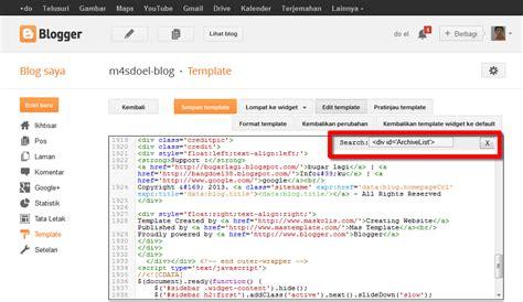 cara membuat blog file pdf cara membuat widget archive dengan scroll di blog