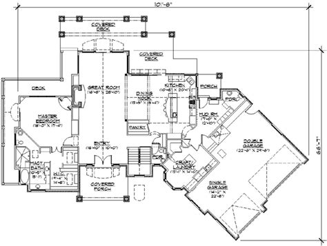 2600 sq ft house plans style house plans 2600 square foot home 1 story 1 bedroom and 1 bath 3 garage