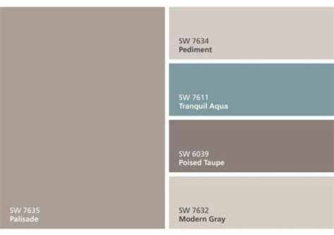 Sherwin Williams Poised Taupe Color Palette Sherwin | the 365 best images about color palette ideas on pinterest