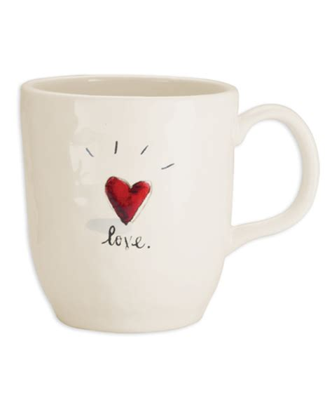 rae dunn mugs rae dunn love mug shop nectar high falls ny