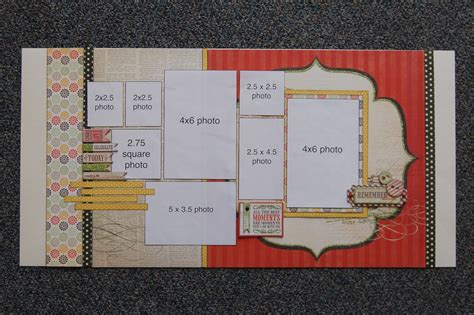 Scrapbook Layout Kit Clubs | scrapbook generation kit clubs