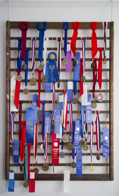 Show Ribbon Rack by Medal Display Thistlewood Farm