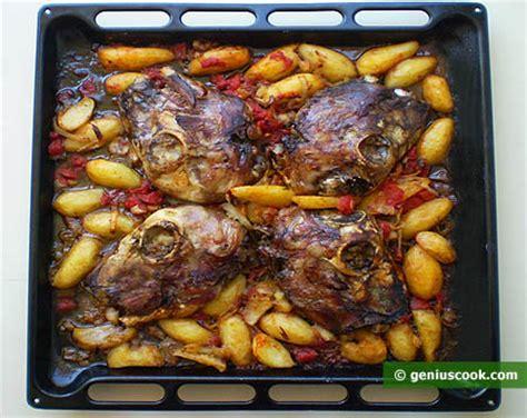 testa di agnello al forno testine di agnello al forno cucina italiana