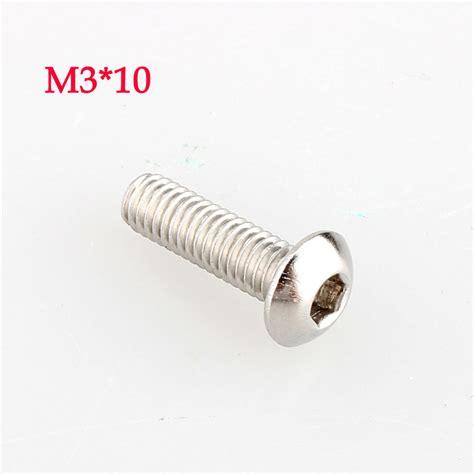 1 Pcs M3 M3x10 10mm Stainless Steel Hex aliexpress buy sale 2015 new free shipping 100pcs lot metric thread m3x10 mm m3 10